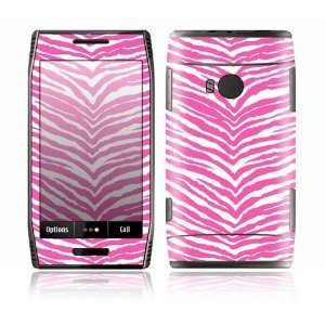 Pink Zebra Design Decorative Skin Cover Decal Sticker for