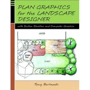 Plan Graphics for he Landscape Designer wih Secion
