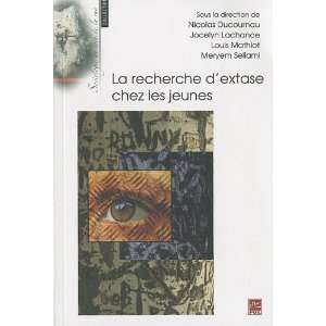 Lachance, Louis Mathiot et Meryem Sellami Nicolas Ducournau: Books
