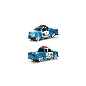 112 Scale Police Wagon Radio Control Car With Music Toys