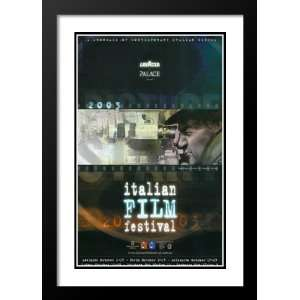 Italian Film Festival 32x45 Framed and Double Matted Movie