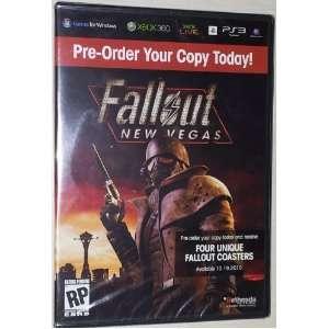 Fallout New Vegas Pre Order Coasters (Set of 4