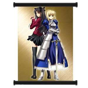 Fate Stay Night Anime Fabric Wall Scroll Poster (31x42