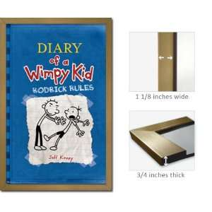 Framed Diary Wimpy Kid Poster Rodrick Rules Fr6397: Home & Kitchen