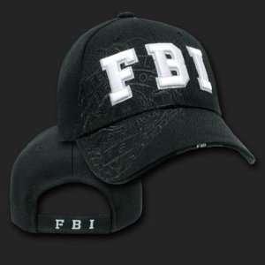 FBI SHADOW DESIGN HAT CAP LAW ENFORCEMENT CAPS