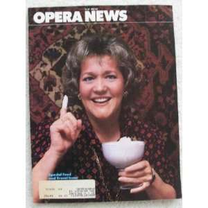 Opera News Magazine. May 1982. Single Issue Magazine