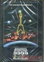 DAFT PUNK LEIJI MATSUMOTO INTERSTELLA 5555 DVD SEALED