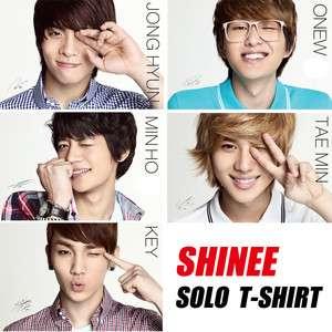 shirt, K pop Boyband SHINEE Jonghyun Taemin Key Minho Onew NEW