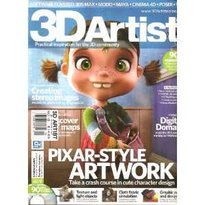 3d artist magazine (uk) (creating stereo images, no. 18