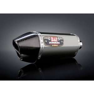 Yoshimura R77D Full Exhaust   Stainless Steel Muffler