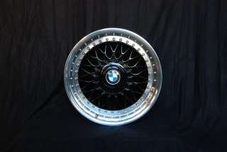 BLACK BBS RC 8/9X17 BMW STYLING 5 RIMS MIRROR POLISHED