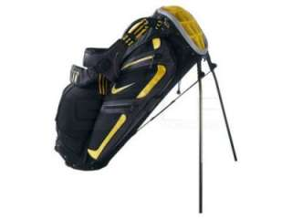Nike Golf Performance Stand Carry Bag Black Varsity Maize Yellow