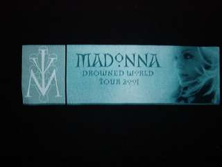 MADONNA CONCERT SHIRT Ladies Drowned SM tour pop rock