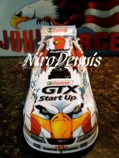 NHRA JOHN FORCE 124 Diecast FREEDOM FLIGHT Nitro Funny Car 2004
