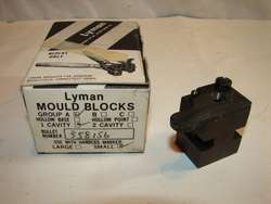 Lyman 1 Cavity Lead Bullet Mold 358 156 New Old Stock.