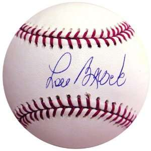 Lou Brock MLB Baseball