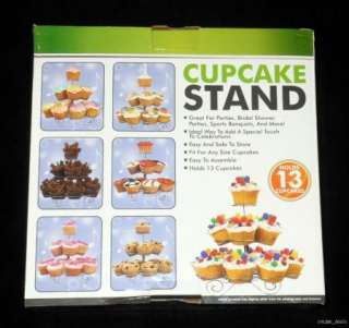 Tree Cupcake Stand Dessert Birthday, Bridal Shower Party Holds 13 NEW