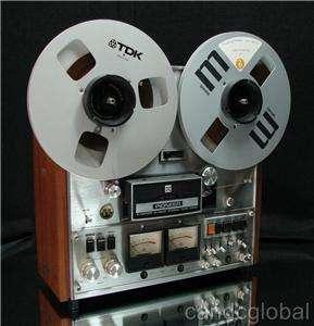 VINTAGE PIONEER REEL TO REEL TAPE RECORDER RT 1020H 1974 WORKS PERFECT