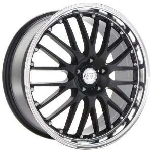 18x8 Privat Netz (Gloss Black w/ Machined Lip) Wheels/Rims