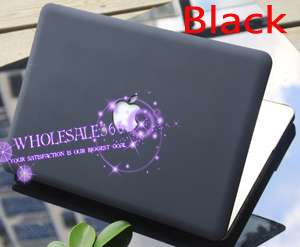 BLACK Rubberized Hard Case Cover For New Macbook PRO 15