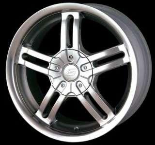 16 Sacchi S12 212 Custom Wheels Hyper Silver FWD 16x7