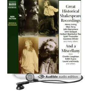 Shakespeare, John Barrymore, Laurence Olivier, Henry Irving Books