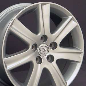 ES 350 Style Wheels Fits Lexus   Silver 17x7 Set of 4