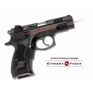 CZ 75   Compact Rubber Overmold, Front Activation:  Sports
