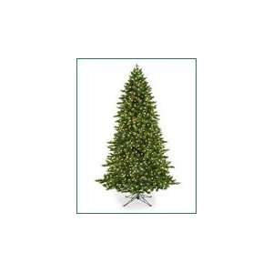 Lit Artificial Christmas Tree Clear and Multi color Lights and Free