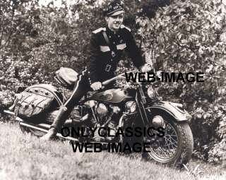 here is a great shot of a 1940 harley davidson knucklehead motorcycle