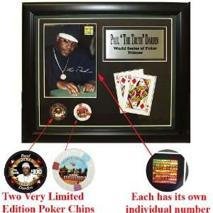 Paul Darden Limited Edition Collectible Plaque: Sports