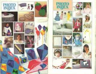Annies Crochet Fashion Wardrobe 4 Issues 1987 88
