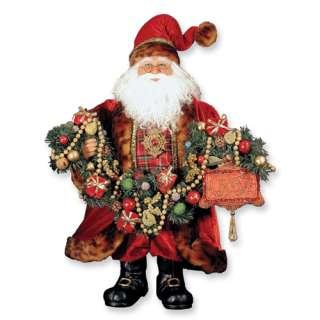 NEW Handcrafted Karen Didion 20 Joy Santa Figurine