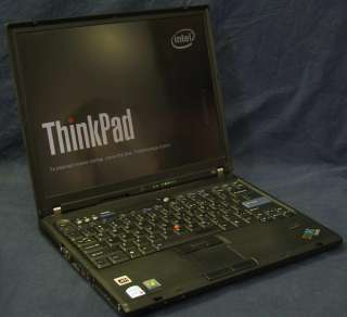 Lenovo ThinkPad T60 1952 CTO Laptop 14 Core Duo 1.8GHz
