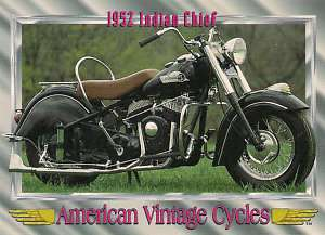 1952 Indian Chief Motorcycle Engine 1340cc 2 Cylinder Rare Find