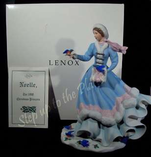 the yearly release of lenox christmas princess this is noelle from