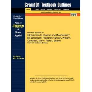 Studyguide for Introduction to Organic and Biochemistry by Bettelheim