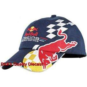Red Bull Racings 2011 F1 Navy Team Hat Officially Licensed & Tagged