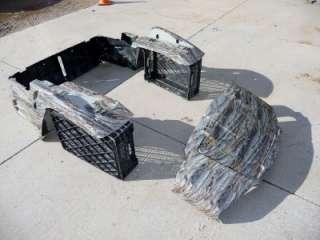 NEW 09 club car golf cart 950 XRT plastics fenders CAMO