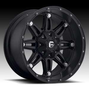 MHT Fuel Hostage 20x9 Black Wheels All Trucks/SUV