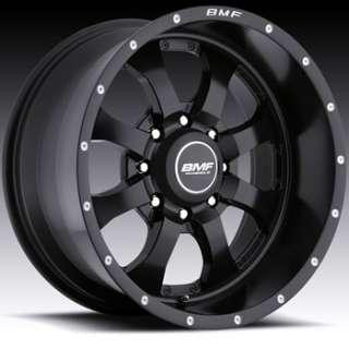 20x9 Flat Black Wheel BMF Novakane 8x170 F250 350