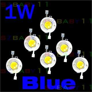 10pcs 1W blue High Power LED Light Energy Saving Light Lamp DIY