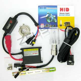 H4 HB2 Bi Xenon HID HeadLight kit Harley Davidson 99 09 Night Train