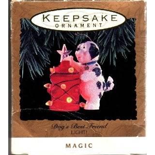 Dogs Best Friend   Light and Magic Ornament   1993 Hallmark Keepsake