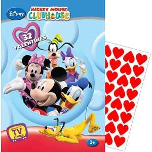 Mickey Mouse Clubhouse Valentines Day Cards 32ct Toys & Games