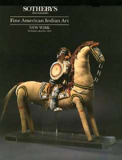 Sothebys Fine Native American Indian Art 1993