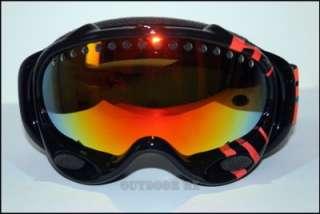 47d2107e9e3 ... NEW Oakley A Frame Goggles Black Transit Turquoise Fire Iridium Lens ...