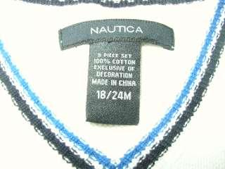 Nautica Baby Toddler Boy Sweater Vest 18 24 Months M