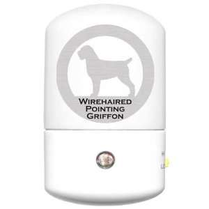Wirehaired Pointing Griffon LED Night Light: Home