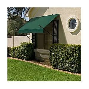 Designer Window Awnings 4   GREEN   Improvements Patio
